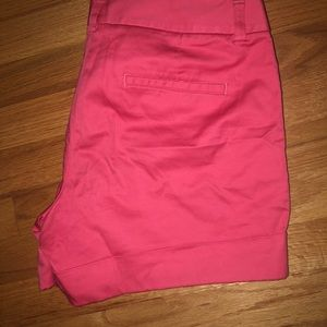 Express, like new, pink / coral shorts, size 8